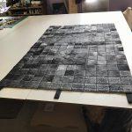 patchwork peaux de toros